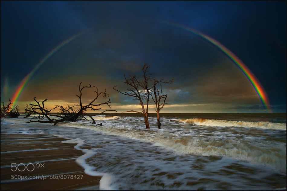 Photograph Rainbow Over the Botany Bay, SC by Igor Laptev on 500px