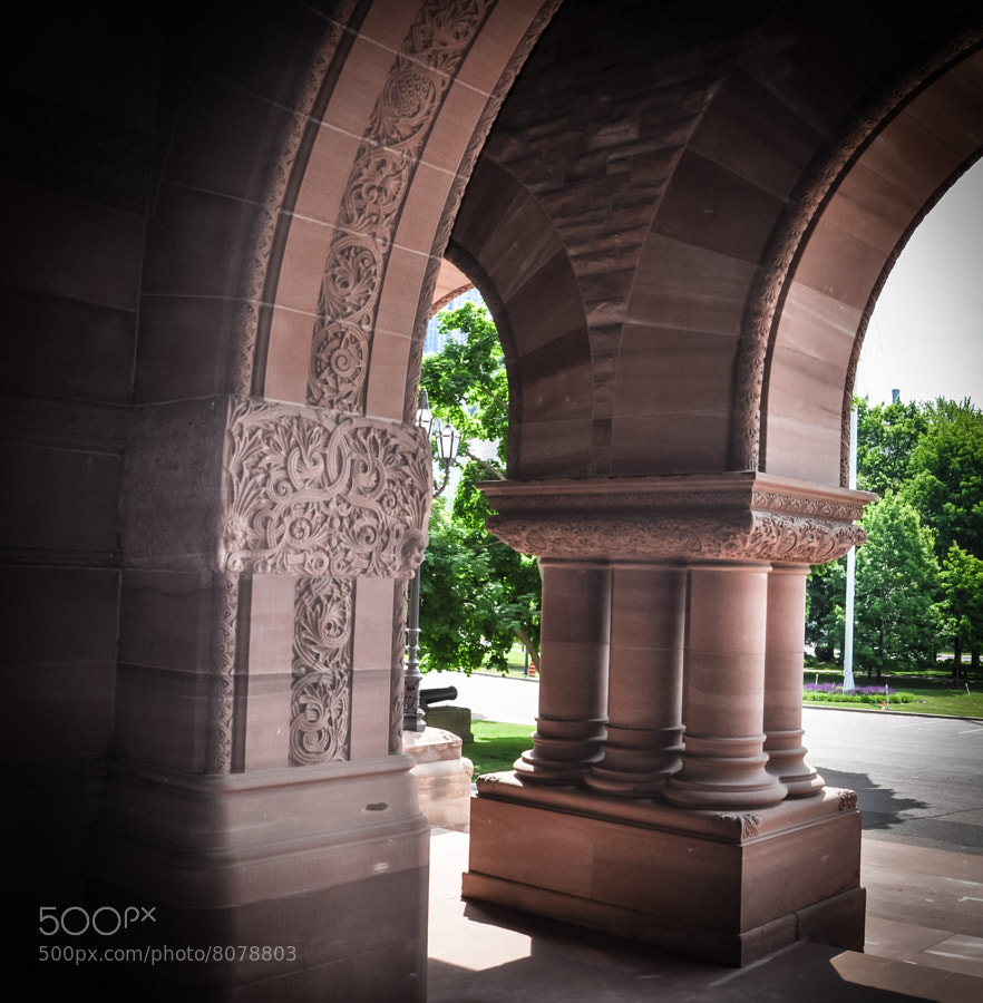 Ontario Legislature main entrance