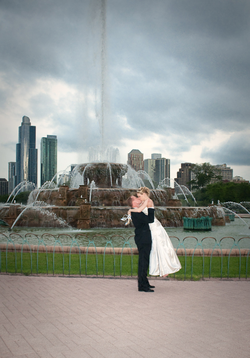 Photograph Kiss by the Fountain by Stephanie Wallace on 500px