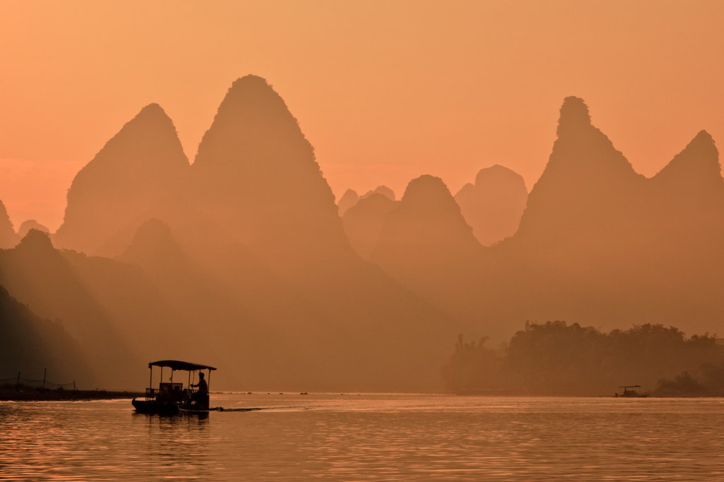 Photograph Li River,Guilin by Helminadia Ranford on 500px