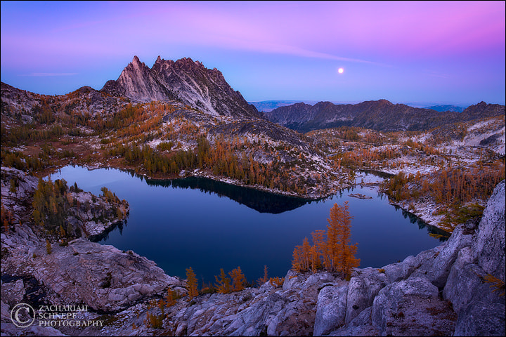 Photograph Moonrise Over the Enchantments by Zack Schnepf on 500px