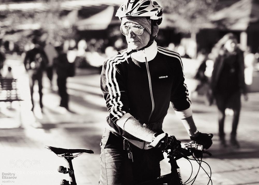 Photograph Sydney streets: Cyclist by Dmitry Elizarov on 500px