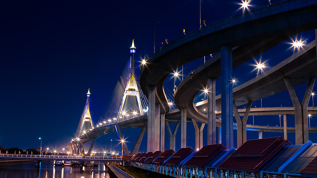 Photograph Bhumibol Bridge-2 by seni chunhacha on 500px
