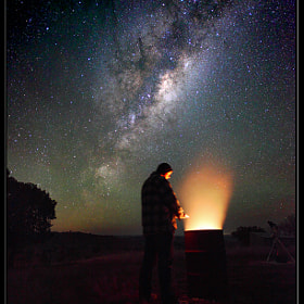 In The Cold Of Space by Greg Gibbs (CapturingTheNight)) on 500px.com