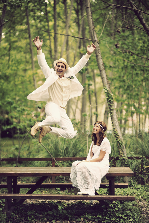 Photograph Wedding Jump by Manuel Orero on 500px