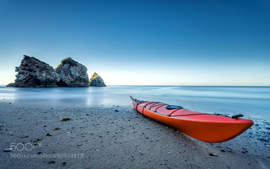 Photograph The red kayak by Paulo Mendonça on 500px