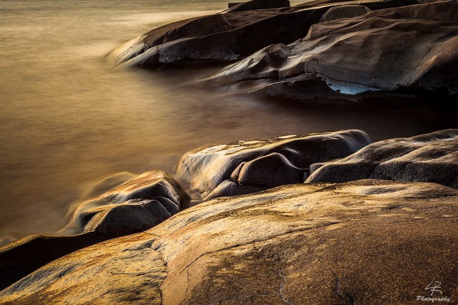Photograph Sunset Rocks by Leo Rantala on 500px