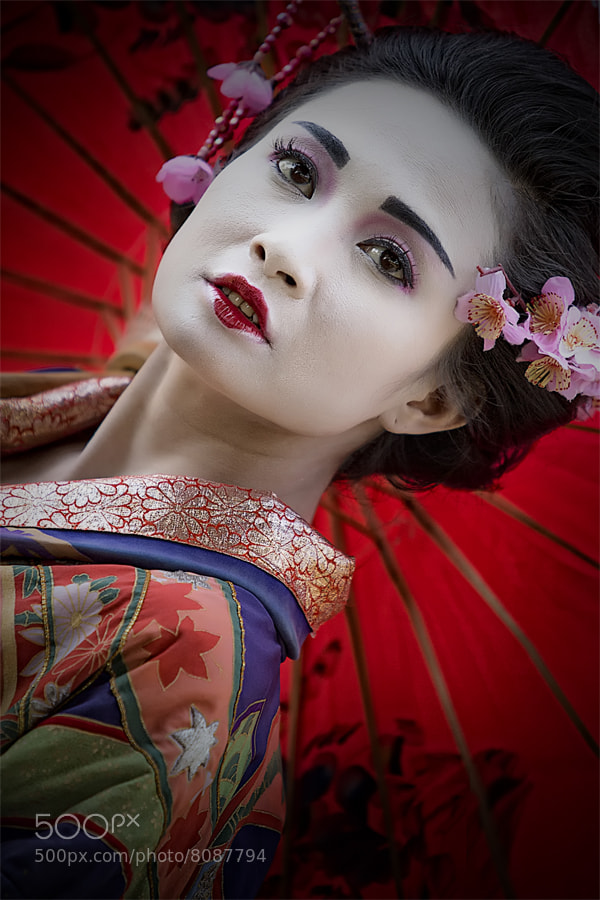 Photograph Portrait of Geisha by Arief Nurdin on 500px