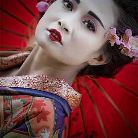 Portrait of Geisha by Arief Nurdin (Ariefnurdin)) on 500px.com