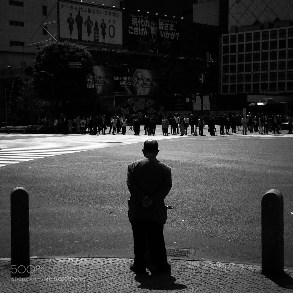 Photograph Alone in the street by Baris Ozturk on 500px