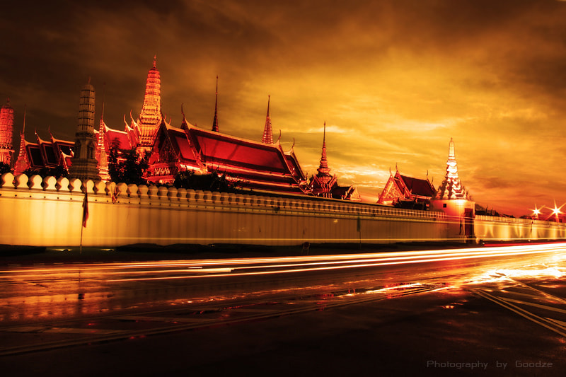 Photograph Wat Phra Kaew by bundit jonwises on 500px