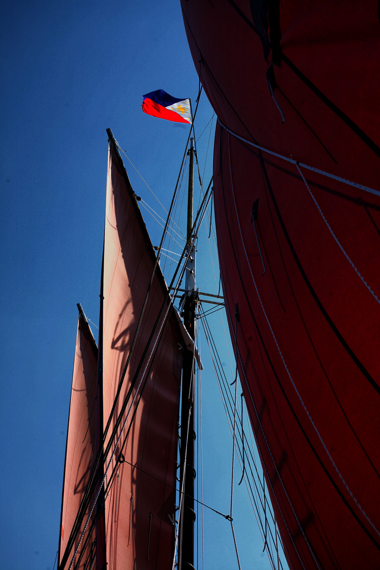Photograph Red Sail by Barry Donaghue on 500px