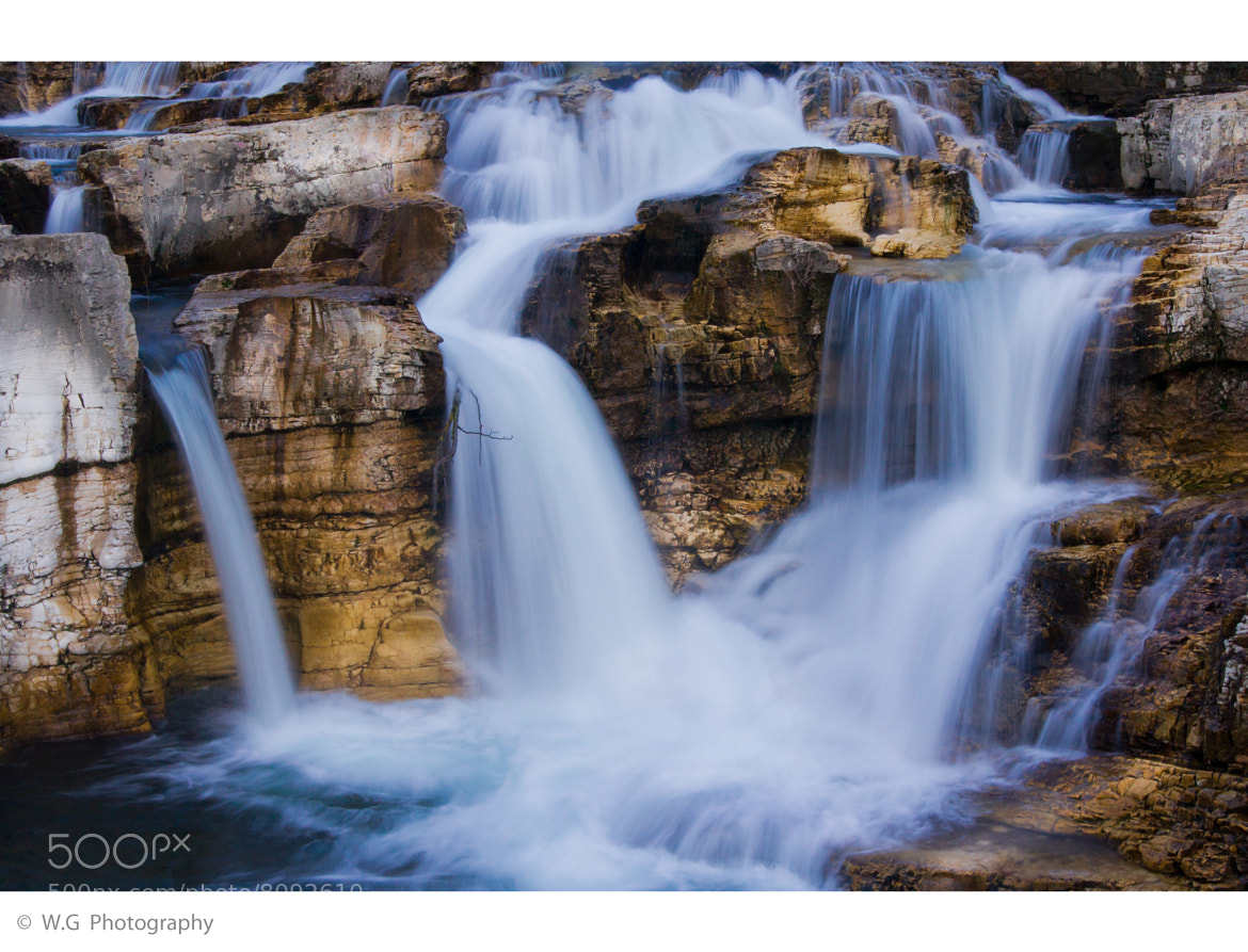 Photograph Sautadet Falls by Guillaume Weber on 500px