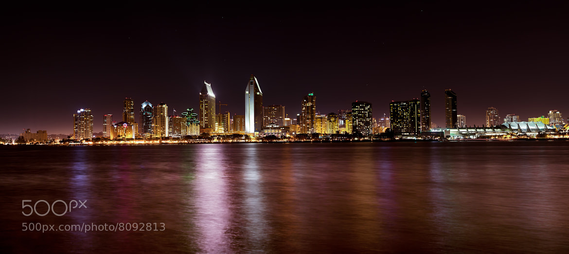 Photograph San Diego Skyline Pano by Shane Lund on 500px