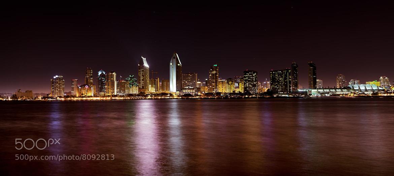 Photograph San Diego Skyline Pano by Shane Lund on 500px