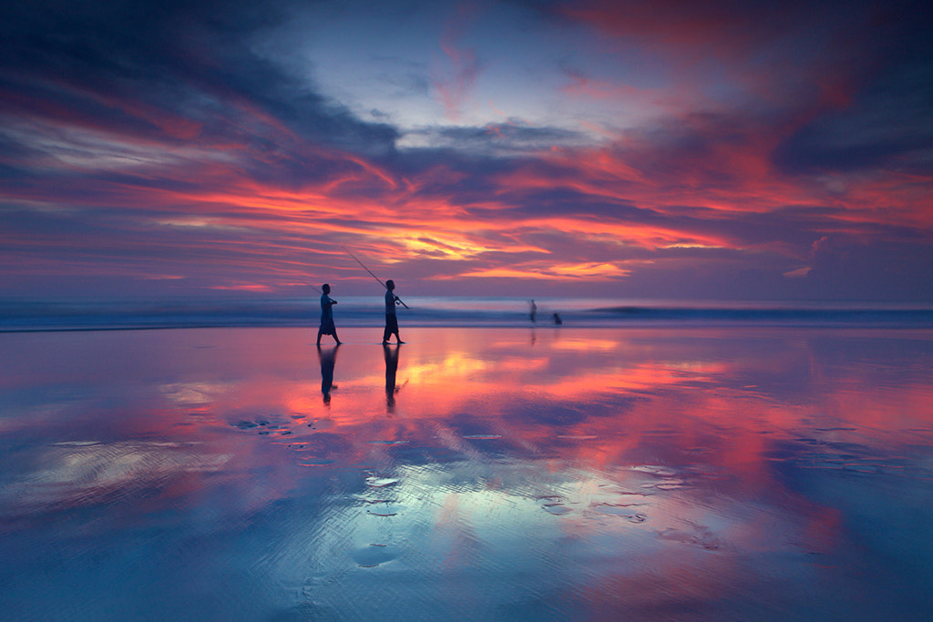 Photograph Colorful Sunset by Helminadia Ranford on 500px