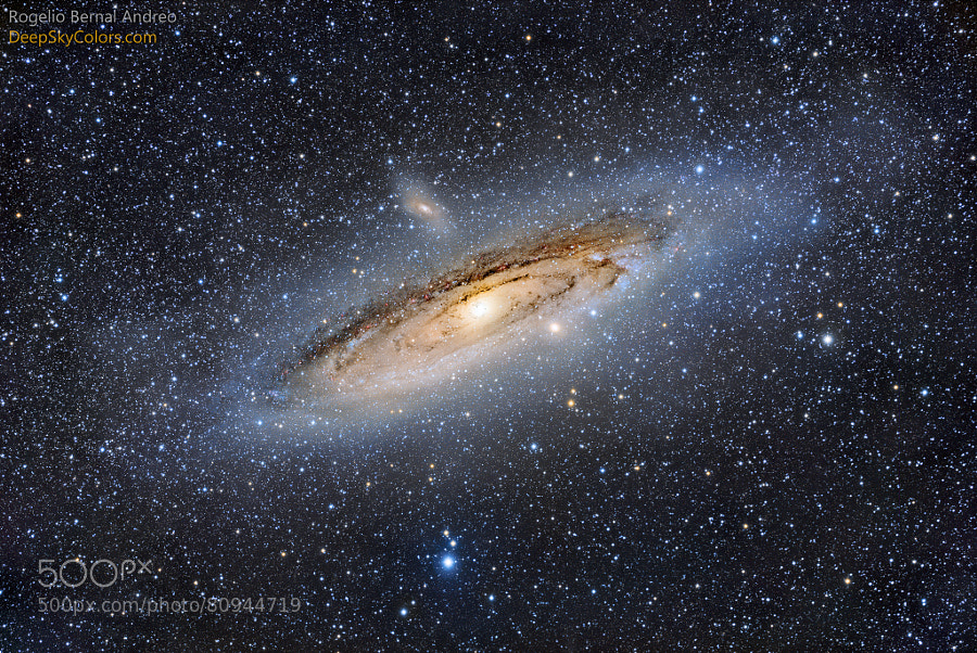 Photograph Andromeda Galaxy by Rogelio Bernal Andreo on 500px