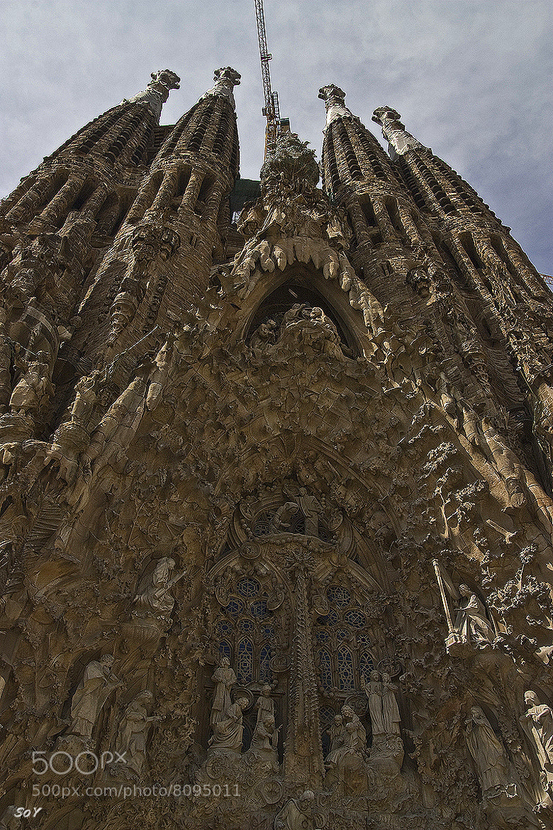 Photograph la Sagrada Familia by Svetlana Luz (SoY) on 500px