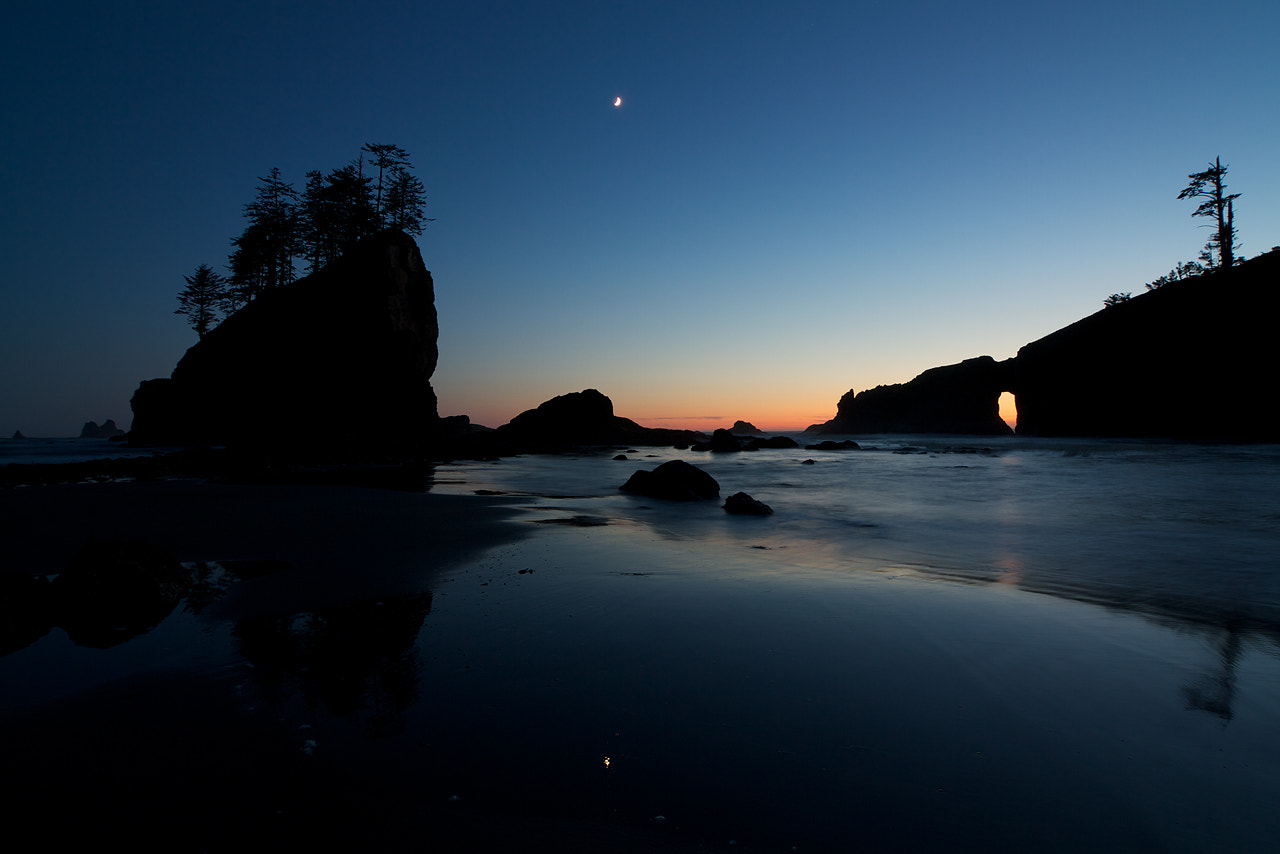 Photograph Last Light at Second Beach by Justin Marx on 500px