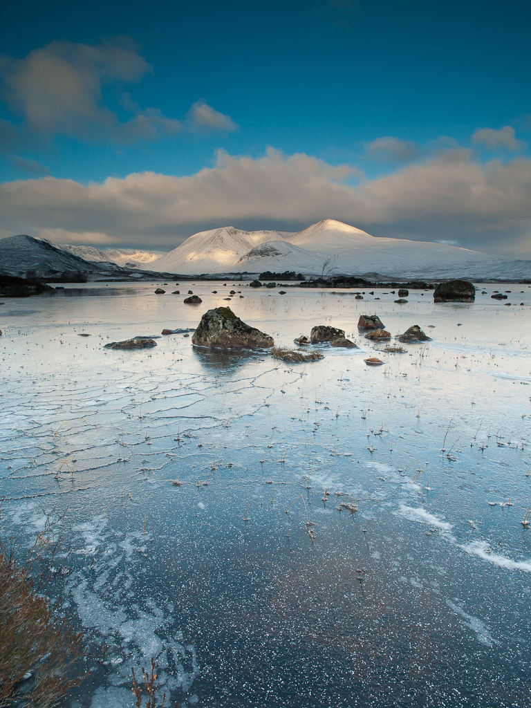 Photograph Lochan Nah'Achlaise, winter morning by Keith Muir on 500px