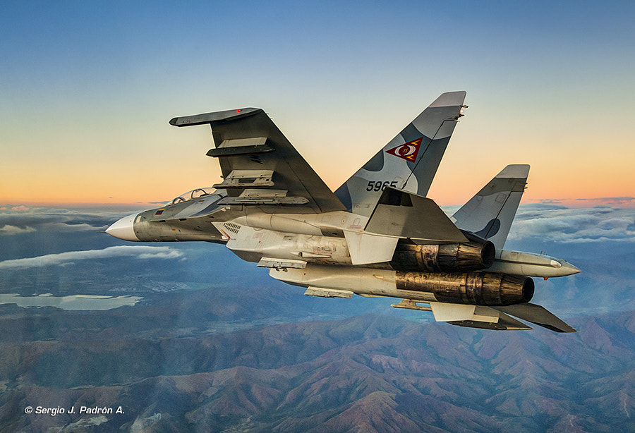 Su-30 MkII by Sergio J. Padrón A. on 500px.com
