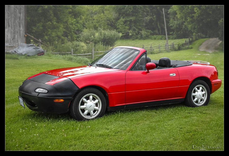 Our 1990 Miata - Boyd Farm 2014