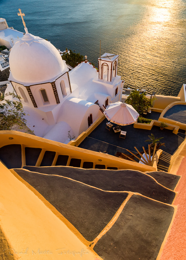 Photograph Golden Santorini by David Martín on 500px