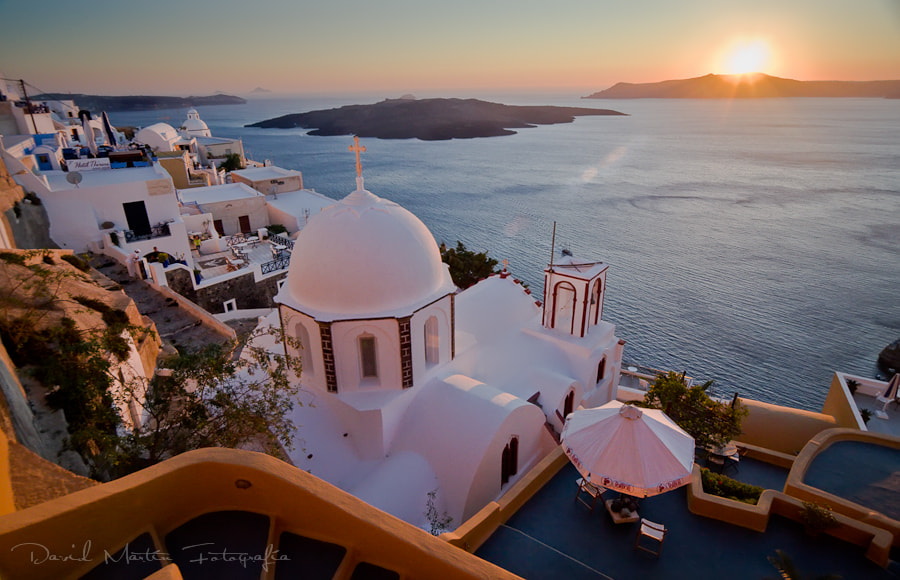 Photograph Sunset in Santorini by David Martín on 500px