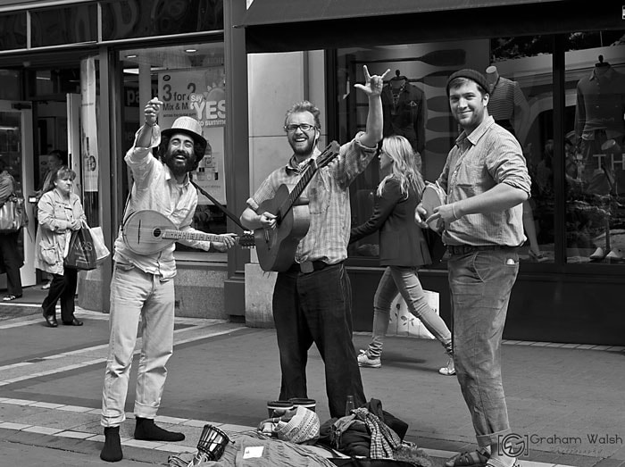 Photograph Buskers by Graham Walsh on 500px