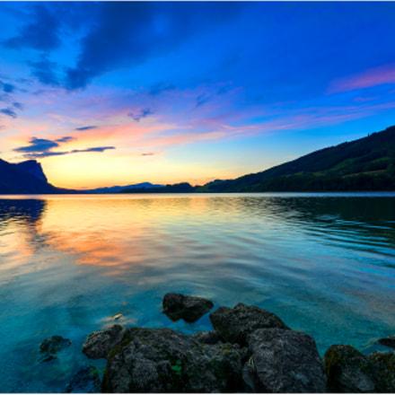 Sunset at Mondsee