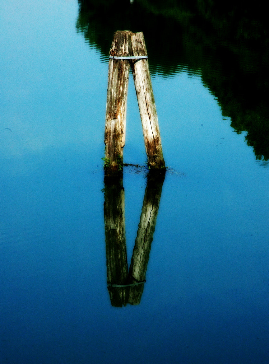 Photograph blue sky-water by Sushila C. on 500px