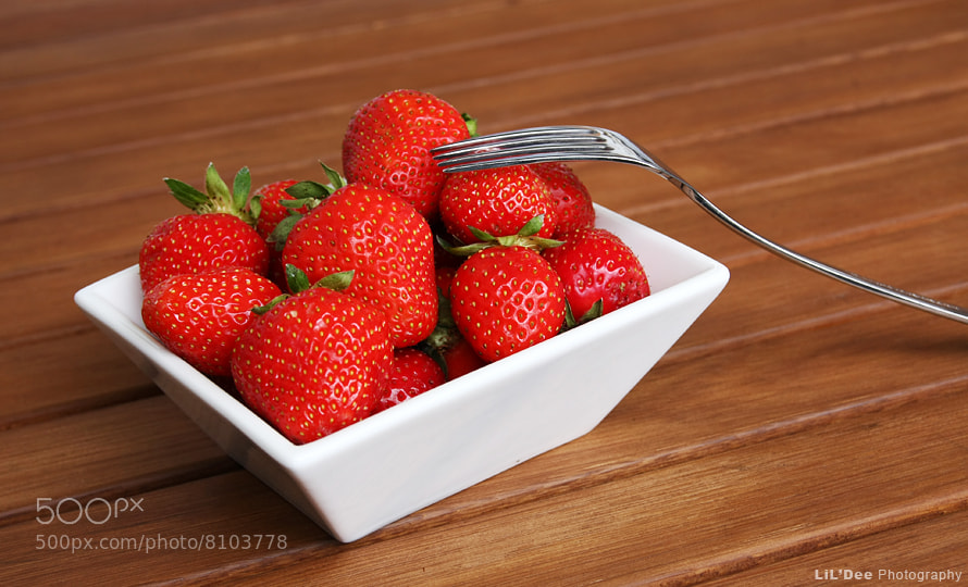 Photograph Strawberries. by Denis Klicic on 500px