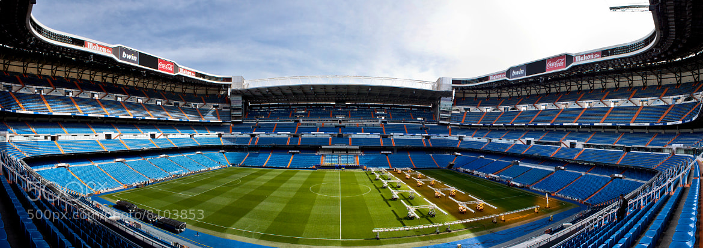 Photograph Bernabéu Panorámico by Gigi Photography on 500px