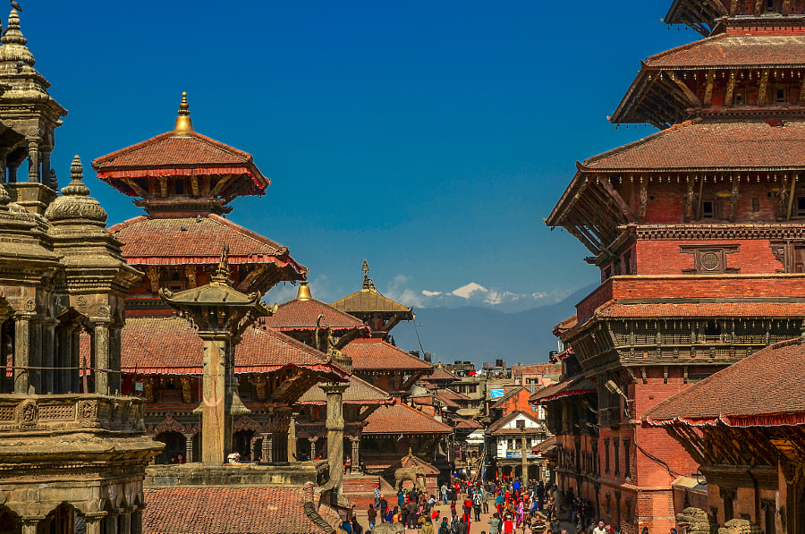 City of temples by Pritish Shrestha on 500px.com