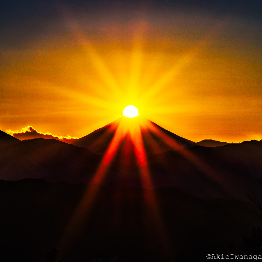 Fuji of dusk