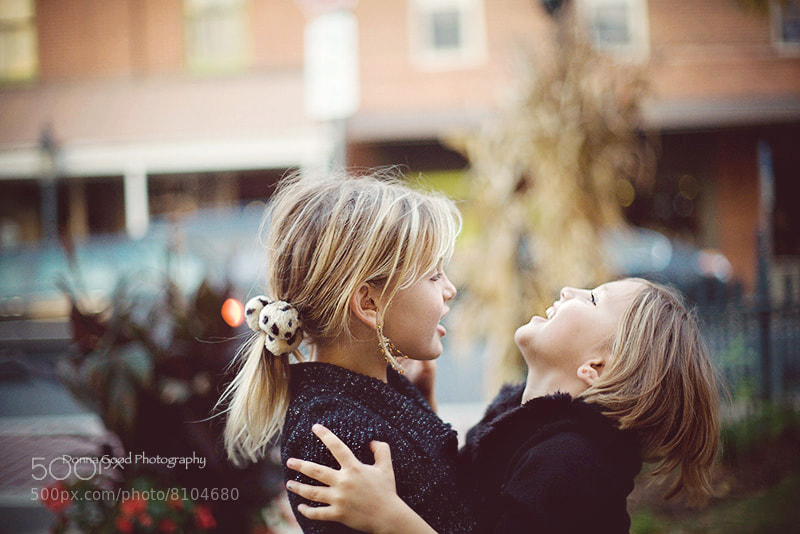 Photograph sisters by Donna Good on 500px
