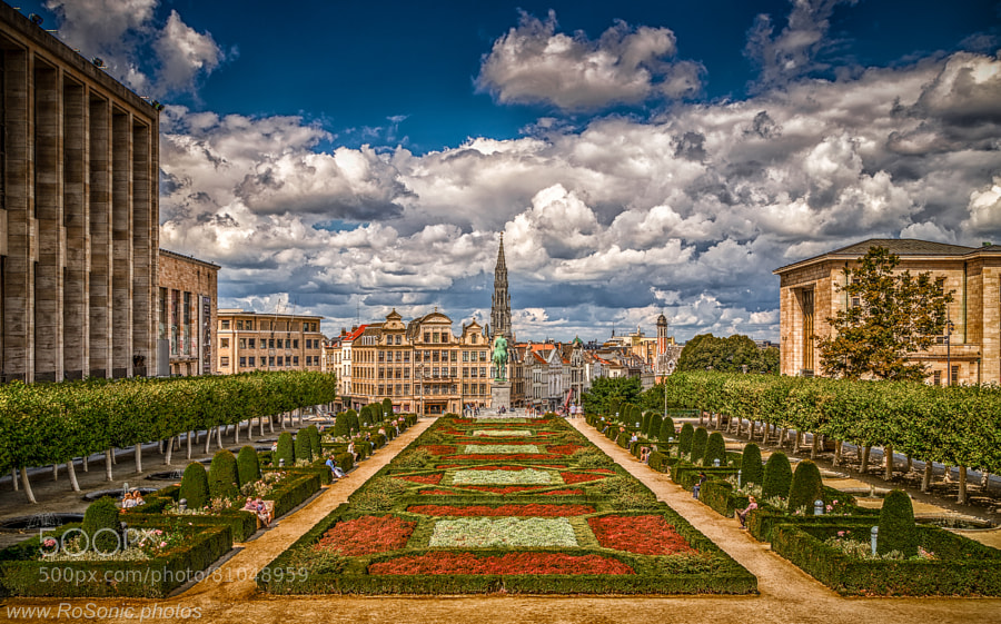 Photograph Mont des Arts, Brussels, Belgium by Andrei Robu - RoSonic.photos on 500px