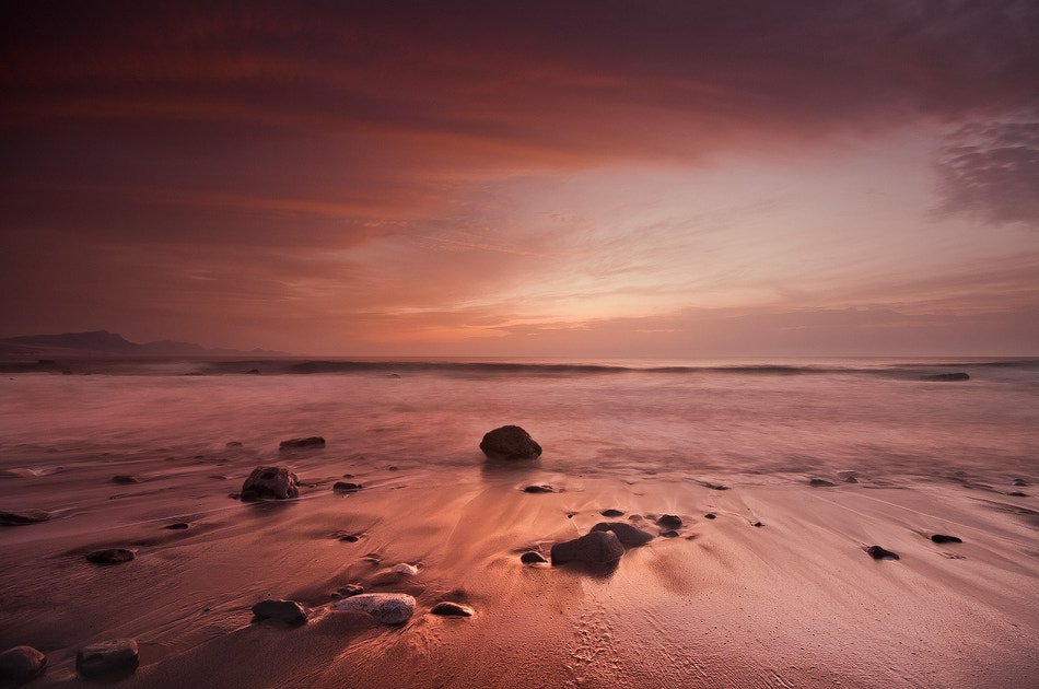 Photograph Red Sunset by Carlos Solinis Camalich on 500px