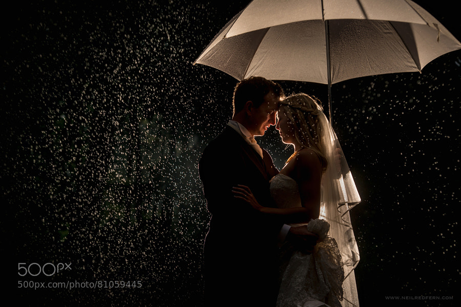 Photograph Together in the rain by Neil Redfern on 500px