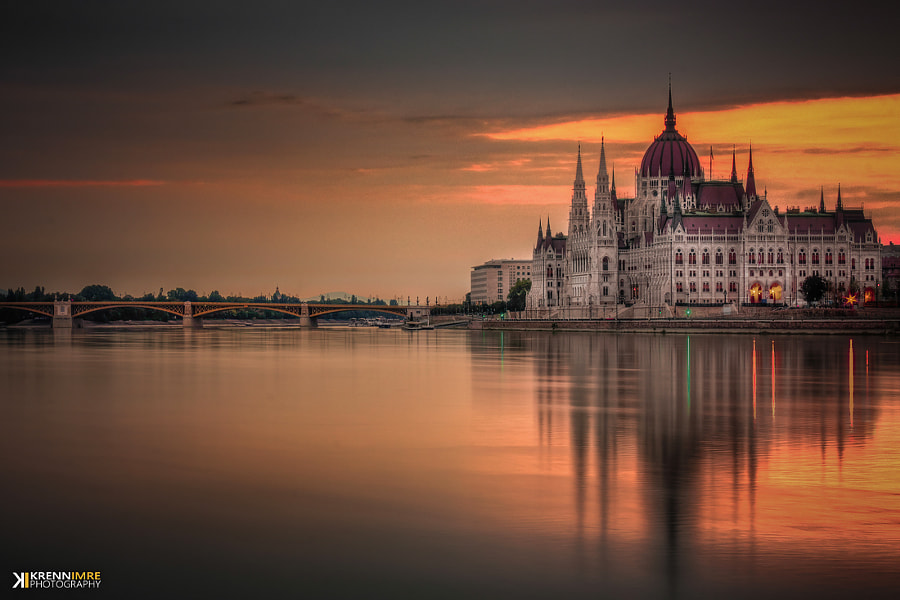Photograph Parliament reflexion by Krénn Imre on 500px
