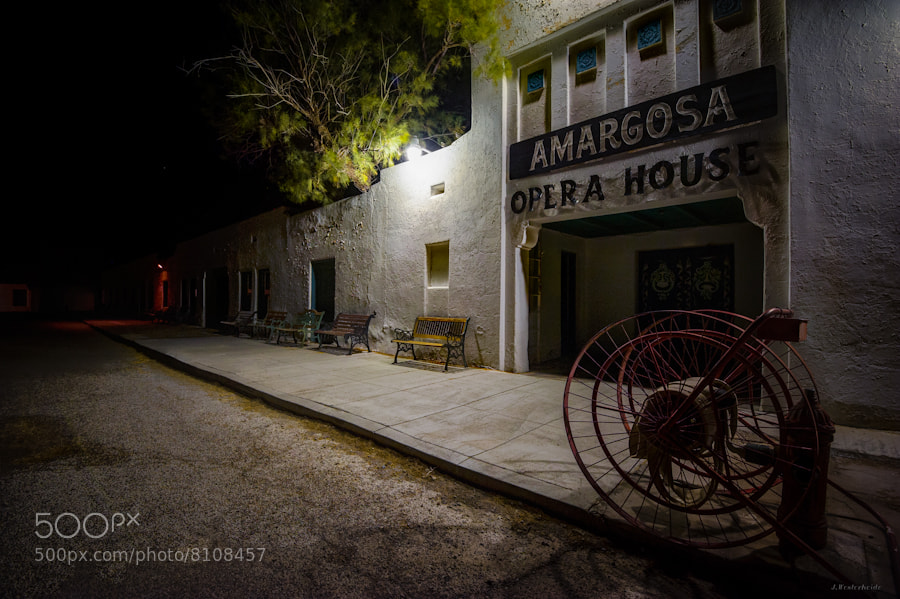 Photograph Amargosa Opera House, Death Valley Junction by Jorg Westerheide on 500px
