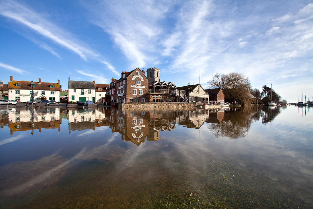 Photograph The River Frome in Flood by Terry Yarrow on 500px