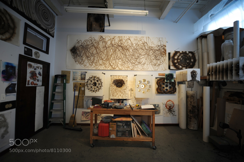Photograph David Sena Studio Visit by Josh Rubin on 500px