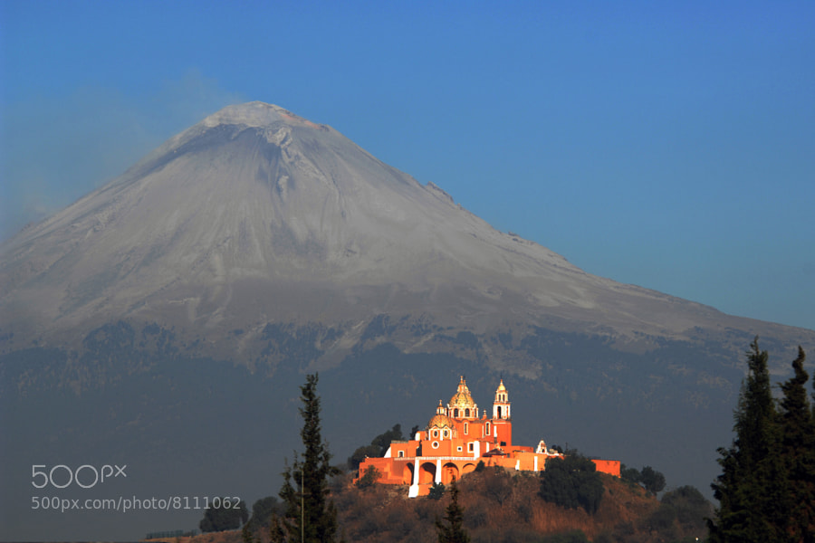 Photograph Vocano in calm, with church by Cristobal Garciaferro Rubio on 500px