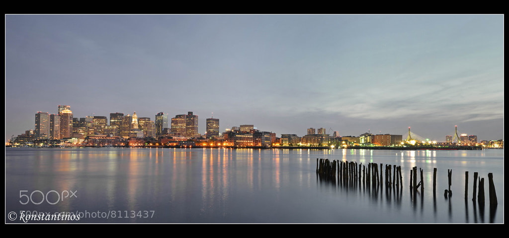 Photograph BOSTON CITY PANORAMA! by konstantinos metallinos on 500px