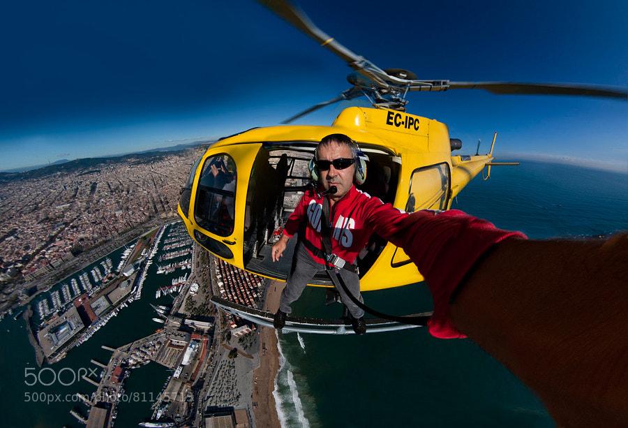Photograph Fliyng Selfie by Siqui Sanchez on 500px