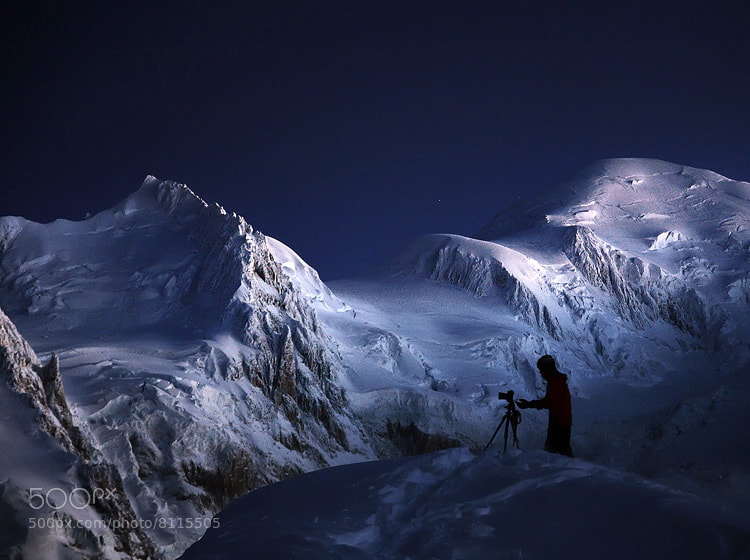 Photograph Venturing into the frozen World by Alexandre Deschaumes on 500px