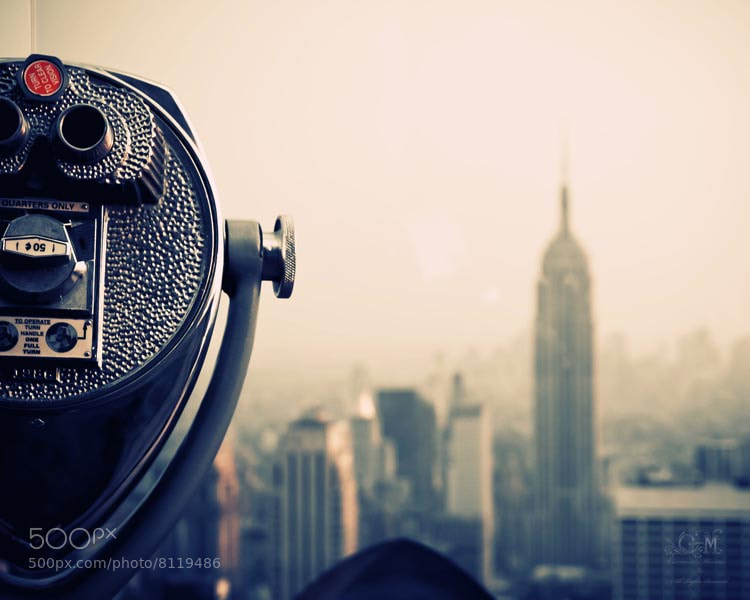 Photograph NYC from the Rock by Carmen Moreno on 500px