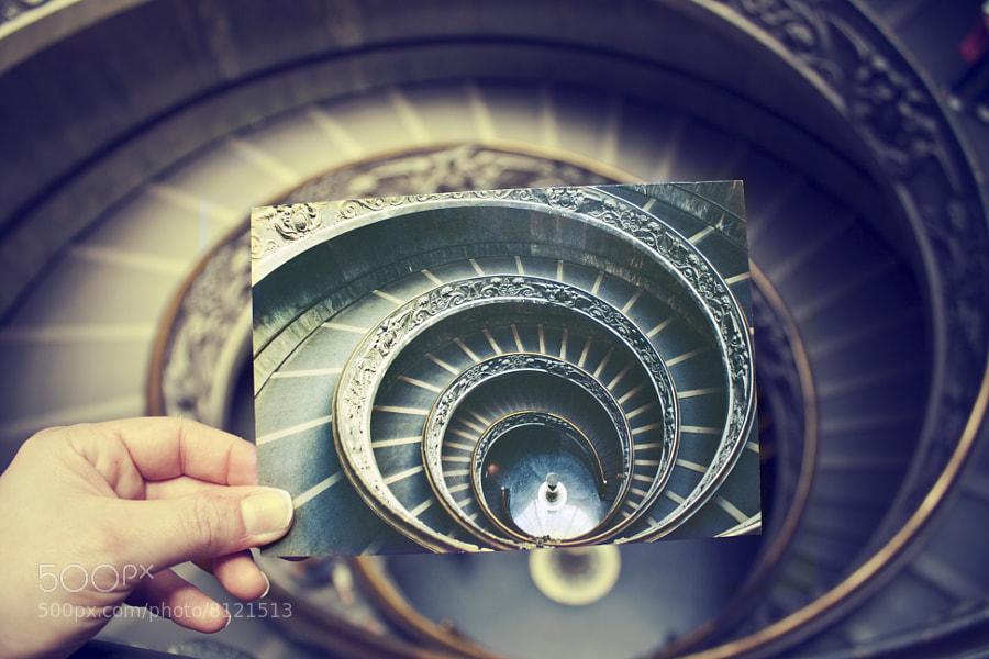 Spiral Staircase by Giuseppe Momo by Vanessa Hernández Carvajal (Vanechc)) on 500px.com