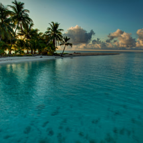 Ranguana Caye at Dawn by Benedict  Kim (esotericvision)) on 500px.com